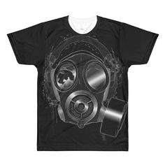 Meth Lab Studio Gas Mask Men's T-Shirt Method Man Hip Hop Wu Tang Clan Staten Island Recording Studio Merch Apparel New York 90's Producer Beats Rap Music Urban Street Wear Smoke Gas Mask Legend