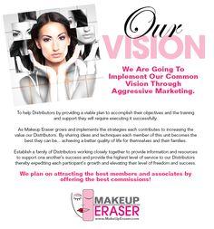 Makeup Eraser - Vision Plan - Become a Makeup Eraser Distributor.