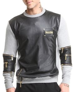 Love this Mixed Media French Terry Sweatshirt W/ Perforat... on DrJays and only for $78.98. Take 20% off your next DrJays purchase (EXCLUSIONS APPLY). Click on the image above to get your discount.