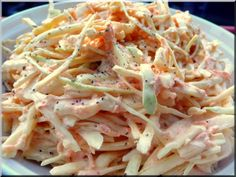Miten tehdään täydellistä coleslawta?