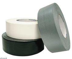 Basic black, white and grey tape.