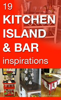19 kitchen island & bar inspirations Best Picture For wooden kitchen island For Your Taste You are l Wooden Kitchen, Kitchen Decor, Kitchen Design, Home Building Tips, Building A House, Diy Home Furniture, Diy Home Decor, Kitchen Island Bar, Kitchen Tables