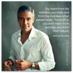 I'll be happy to be another one of your failures, George... any time... ;)