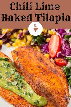 healthyrecipes tilapia dinner chili baked lime 22 22 Chili Lime Baked Tilapia You can find Tilapia recipes and more on our website Lime Recipes Baking, Lime Tilapia Recipes, Cooking Recipes, Talapia Recipes Baked, Seafood Dishes, Seafood Recipes, Chicken Recipes, Tilapia Dishes, Recipes Dinner
