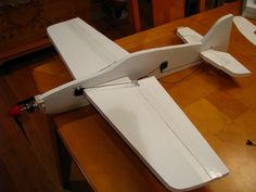 If you are like most RC enthusiasts you have spare spare motors, servos & batteries. This instructable shows you how to make a flat foam airframe in a couple ...