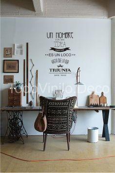 ideas en vinilos decorativos workspace - Google Search