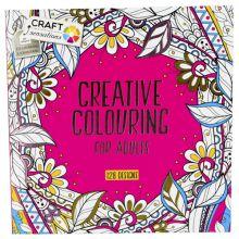 album à colorier adultes 128p. 15x15cm