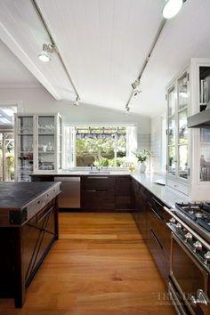 Black Kitchen  #kitchen #design