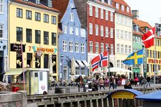 Nyhavn Copenhagen by Anna-Maria Anna Marias, Copenhagen, Street View, Travel, Viajes, Destinations, Traveling, Trips