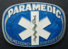 PARAMEDIC EMERGENCY SUPPORT BLUE MEDICAL MEDICINE DOCTOR BELT BUCKLE #paramedic #emt #paramedicbuckle #emtbuckle #paramedicbeltbuckle #emtbeltbuckle #beltbuckle #buckles