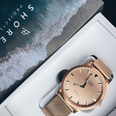 Rose Gold Watch// Want this in my life!//