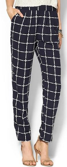 Skies Are Blue Checkmate Print Pant Work Fashion, Fashion Looks, Snappy Casual, Fall Outfits, Fashion Outfits, Fashion Clothes, Holiday Party Outfit, Teacher Outfits, Printed Pants