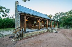 East Texas Log Cabin.  Love the coziness of the natural wood, however, I won't be decorating with deceased animal skins!