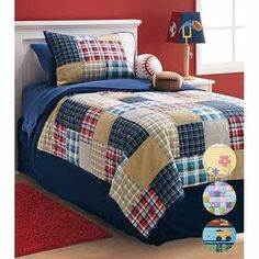 Boy plaid | Kid Spaces | Pinterest | Plaid quilt, Plaid and Blue rooms : patchwork quilts for boys - Adamdwight.com