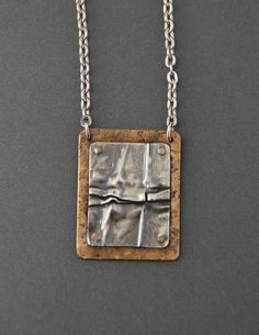 Fold Form Necklace  style 2 by MaggieJs on Etsy, $100.00
