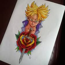 Image result for goku tattoo