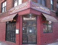 Presto's Pizza in West New York, NJ -- pastas a yummy too!