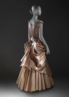Charles James wedding dress, 1948-49