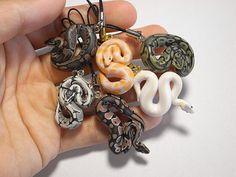 - ̗̀ ̖́- — countblue: Ball python key chains ...
