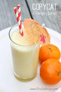 Easy Copycat Orange Julius on MyRecipeMagic.com