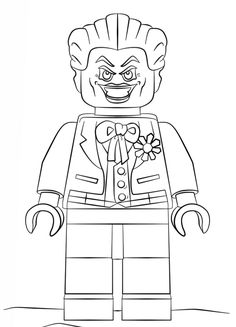 bad cop coloring pages | Bad Cop, the police officer of the Lego movie coloring ...