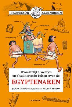 Professor Kleinbrein - De Egyptenaren | Lannoo