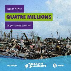 Le typhon Haiyan déplaçait plus de quatre millions de personnes en 2013. http://bit.ly/107xWPh #maketherightmove #Haiyan