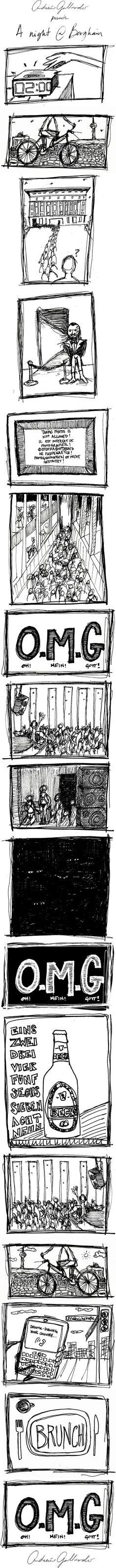 by Andarín Gallardo Berghain, Choose Me, Techno, Storytelling, Travelling, To Go, Germany, Social Media, Club