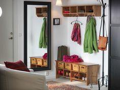 Как организовать прихожую: система и идеи хранения в коридоре одежды и других вещей Ikea Interior, Entrance Decor, Entryway, Furniture, Home Decor, Entrance, Decoration Home, Room Decor, Door Entry