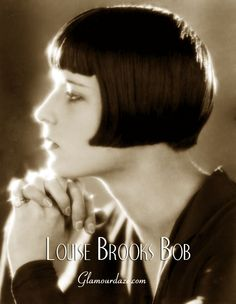 "In Paris, fashion designer Coco Chanel had her locks cropped. Louise Brooks took the page boy look, also known as the "" Dutch Boy "" and combined it with the bob cut, and this is probably the most definitive and iconic bobbed hairstyle remembered today."