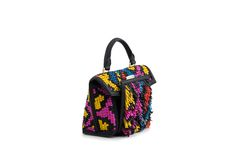 Azzurra Gronchi spring/summer bags collection, big Italy double weave front