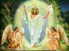 Jesus Christ god catholic lord savior jesus christ church holy father catholic the passion son of god. Jesus Wallpaper, Angel Wallpaper, Heaven Wallpaper, Easter Wallpaper, Wallpaper Pc, Christ Is Risen, Les Religions, Jesus Resurrection, Angels Among Us