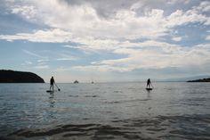 SUPing in Tribune Bay, Hornby Island Playground, Family Travel, Salt, Island, Adventure, Spring, Beach, Water, Outdoor