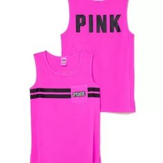 VS PINK CAMPUS TANK Brand new with tags! PINK Victoria's Secret Tops Tank Tops