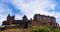 Edinburgh Castle by Randy Dorman