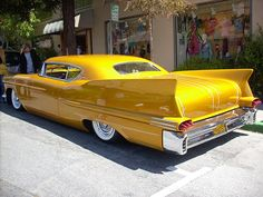 1957 Cadillac http://www.ritcheycadillacbuickgmc.com/ - We agree, it's a cool car!