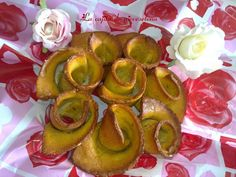 Rosas de pan de garbanzo al aceite de ajo
