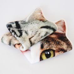 リアルモチーフタオル CAT - ●Leadies' Hemings collection/・リアルモチーフタオル [CONCIERGE-NET (運営:株式会社スーパープランニング)]