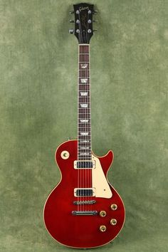 Vintage 1974 Gibson Les Paul Deluxe Cherry Red
