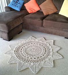 Ravelry: Radiance Floor Rug by Shelley Husband