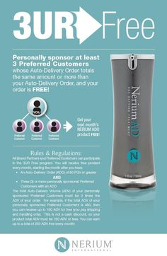 Want your Nerium Free?  Ask me how! www.sdufrane.arealbreakthrough.com