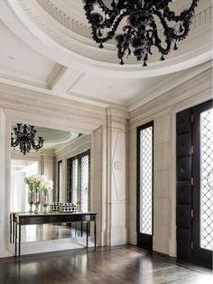 ♡GlamBarbie♡ Architecture by Ferris Rafauli House Design, Interior, Home, House Entrance, Fireplace Design, Luxury Homes, House Interior, Home Interior Design, Luxury Interior
