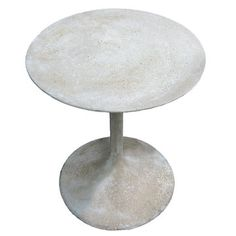 Outdoor table - lightweight, all-weather fiber glass, looks like stone $250