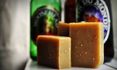 Citrussy Beer Soap