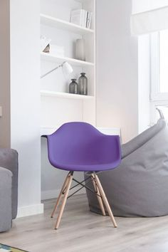 Pantone's 2018 Color of the Year, ultra violet, can be a tricky color to use in your home. Learn how you can use ultra violet with these 6 easy ideas. 2018 Color, Interior Decorating, Interior Design, Color Of The Year, Pantone Color, Home Decor Inspiration, Ultra Violet, Design Trends, Decoration