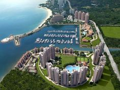 Hong Kong's Gold Coast (This is the complex where we lived our contract in hong kong, yaught club and all!)