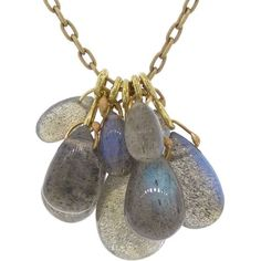 Ten Thousand Things Labradorite Cluster Necklace - this idea