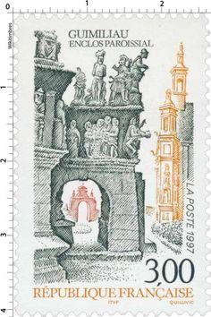 Timbre : 1997 GUIMILIAU ENCLOS PAROISSIAL | WikiTimbres