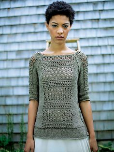 Ravelry: Tracery pattern by Norah Gaughan