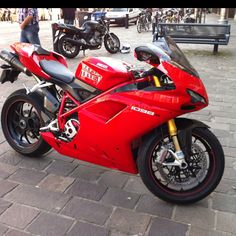 Along with this bad boy. But I'll take the 1198S :-) please.  In white. Thanks